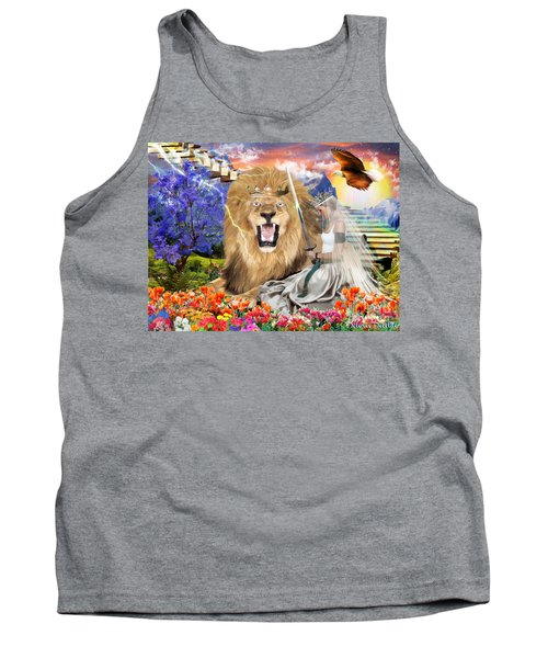 Tank Top featuring the digital art Perfect Peace by Dolores Develde