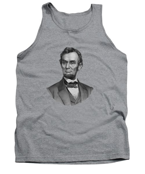 Tank Top featuring the mixed media President Lincoln by War Is Hell Store