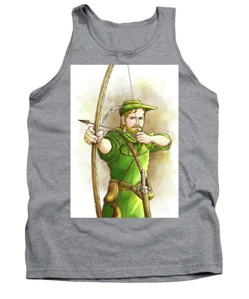 Robin Hood The Legend Tank Top by Reynold Jay