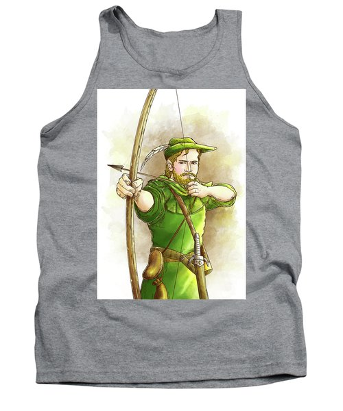 Robin Hood The Legend Tank Top