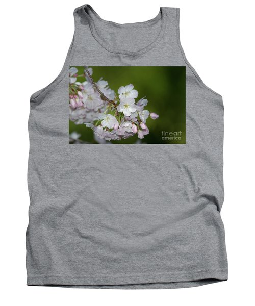 Silicon Valley Cherry Blossoms Tank Top by Glenn Franco Simmons
