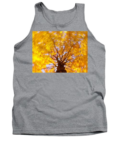 Spinning Maple Tank Top