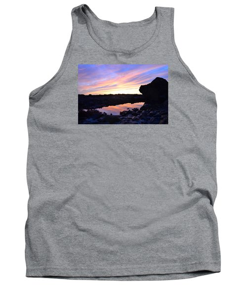 Reflection Of Painted Sky Tank Top