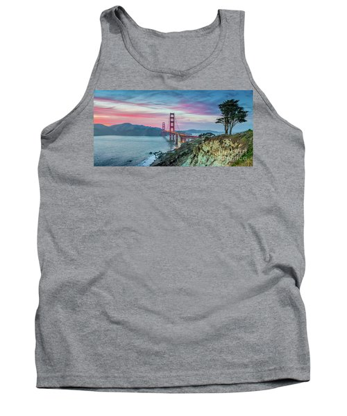 The Golden Gate Tank Top by JR Photography