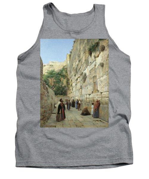 The Wailing Wall, Jerusalem Tank Top