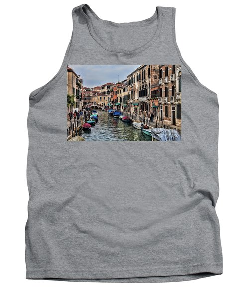 Tank Top featuring the photograph Venice by Shirley Mangini