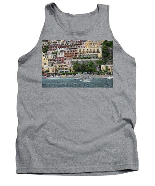 Water Taxi From Amalfi To Positano Tank Top