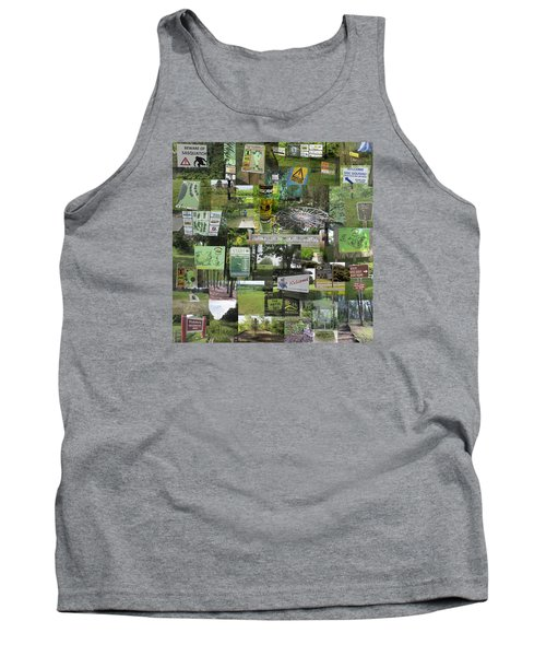2015 Pdga Amateur Disc Golf World Championships Photo Collage Tank Top