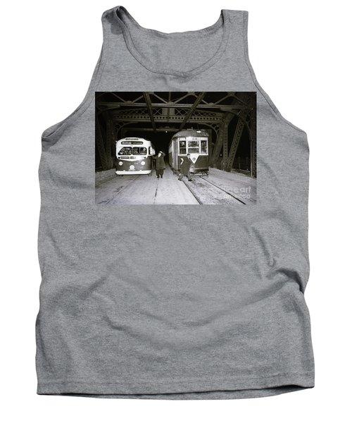 207th Street Crosstown Trolley Tank Top