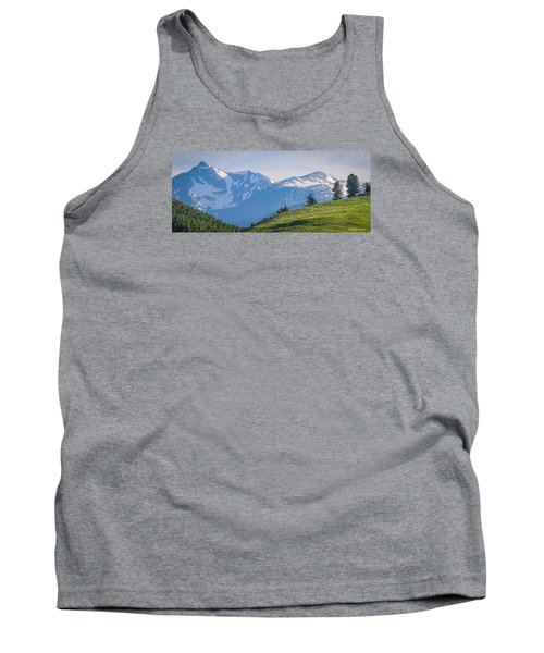 #238 - Spanish Peaks, Southwest Montana Tank Top