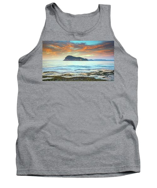 Sunrise Seascape With Clouds Tank Top