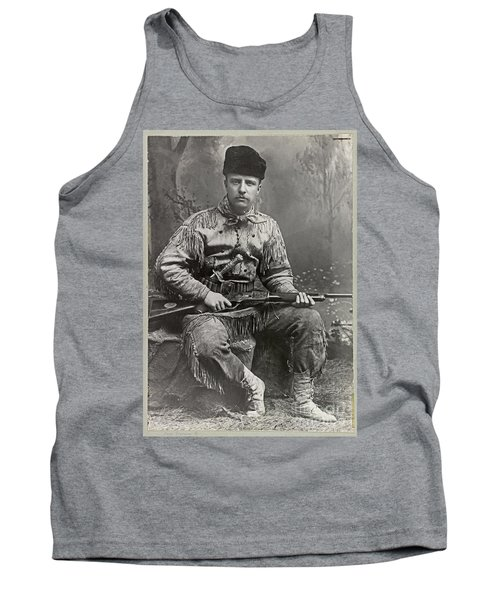 26th United States President Tank Top by John Stephens