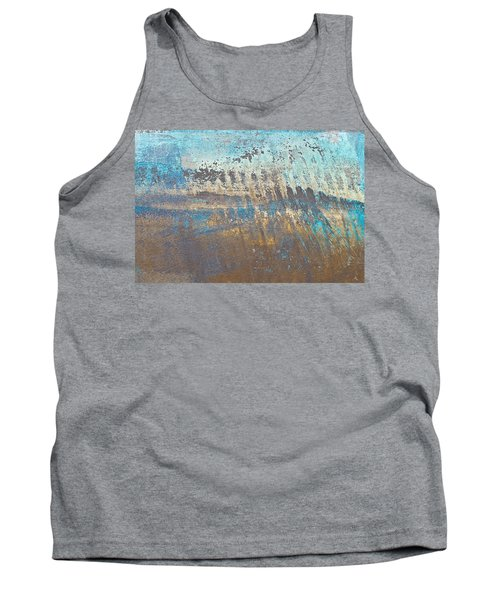 Metal Background Tank Top