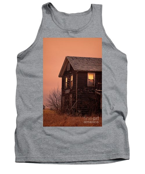 Tank Top featuring the photograph Abandoned House by Jill Battaglia