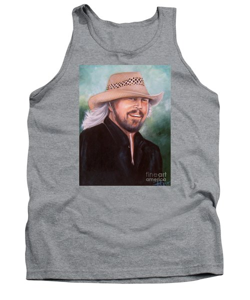 Barry Gibb Tank Top by Patrice Torrillo