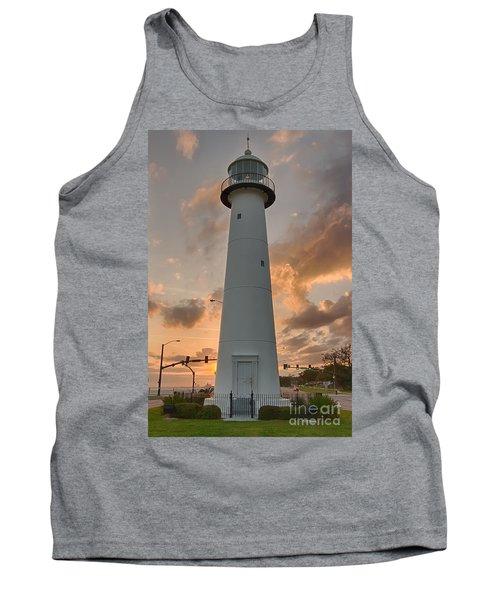 Biloxi Lighthouse Tank Top by Brian Wright