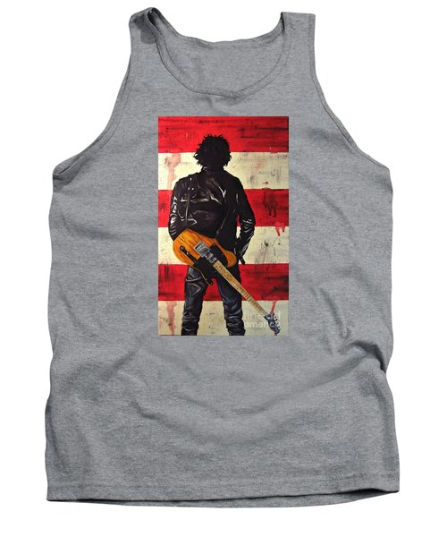 Bruce Springsteen Tank Top by Francesca Agostini