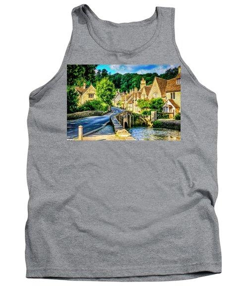 Castle Combe Village, Uk Tank Top