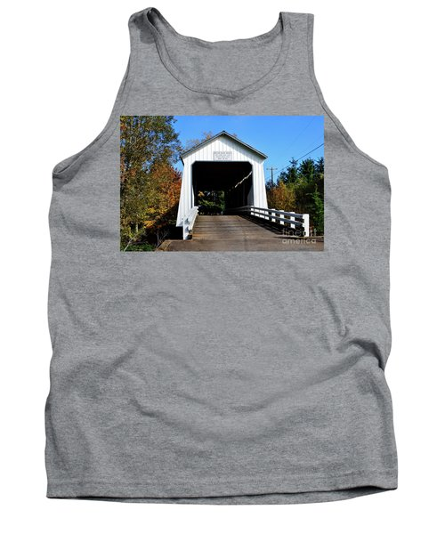 Gallon House Covered Bridge Tank Top by Ansel Price