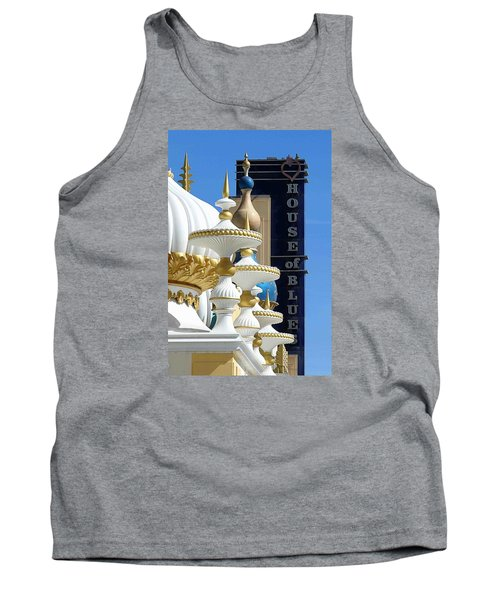 House Of Blues Tank Top by Allen Beilschmidt