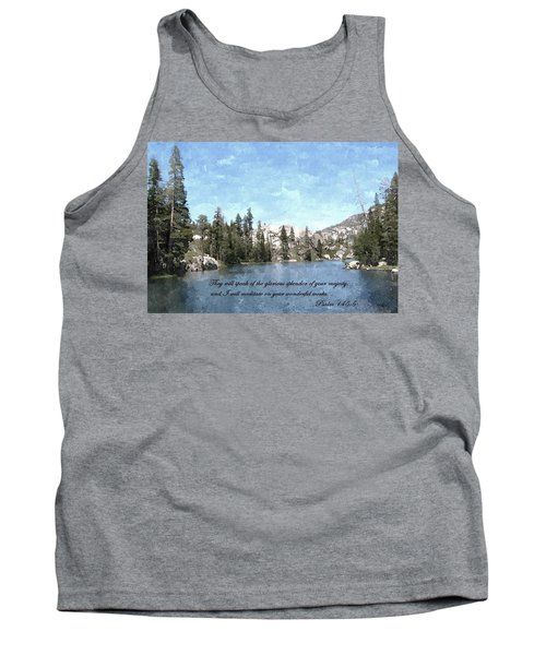 Inspirations 1 Tank Top by Sara  Raber