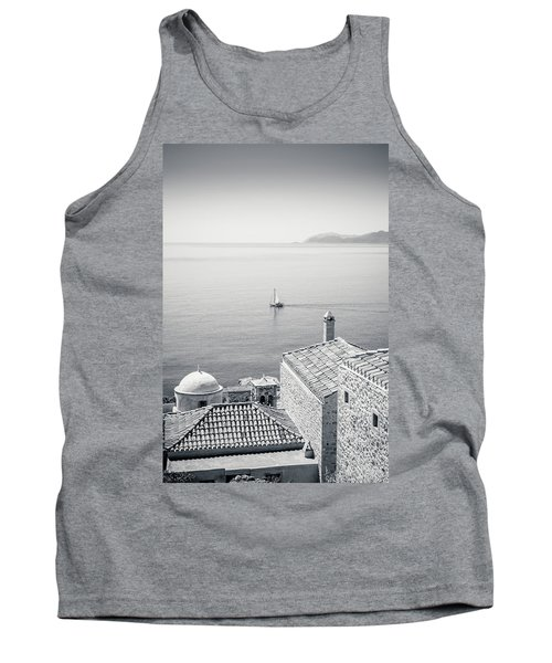 Monemvasia / Greece Tank Top by Stavros Argyropoulos