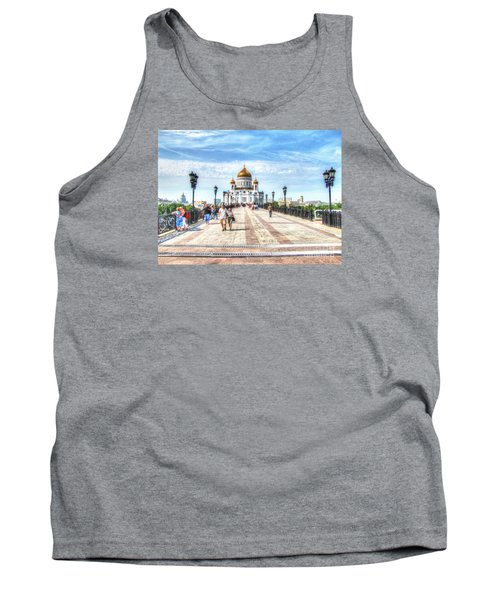 Moscow Russia Tank Top