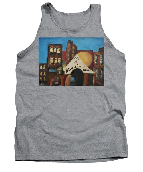 Tank Top featuring the painting Nye's Polonaise Room by Susan Stone