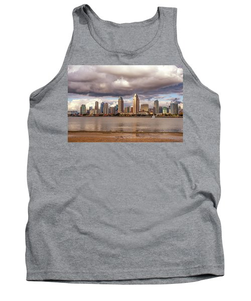 Passing By Tank Top by Joseph S Giacalone