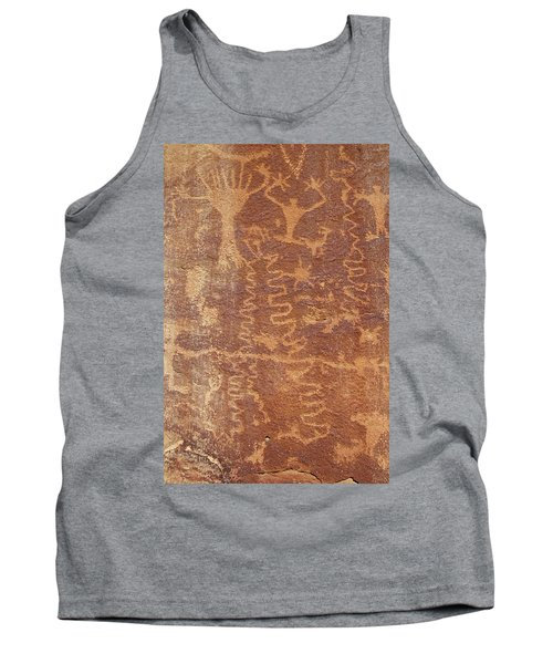 Petroglyph - Fremont Indian Tank Top by Breck Bartholomew