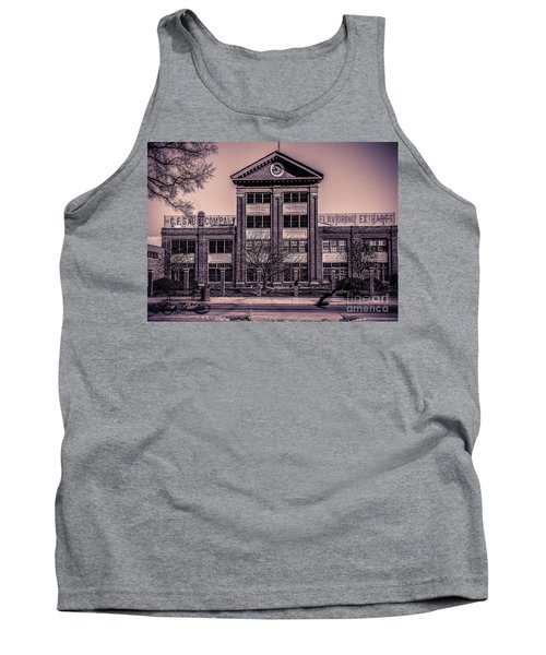 Tank Top featuring the photograph Sauer Building by Melissa Messick
