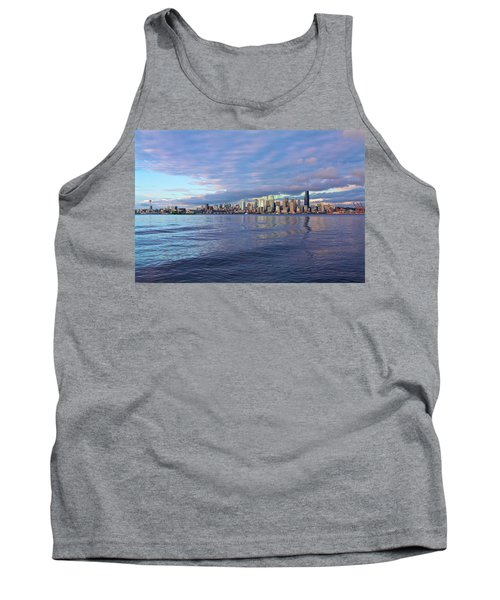 Seattle Skyline Cityscape Tank Top