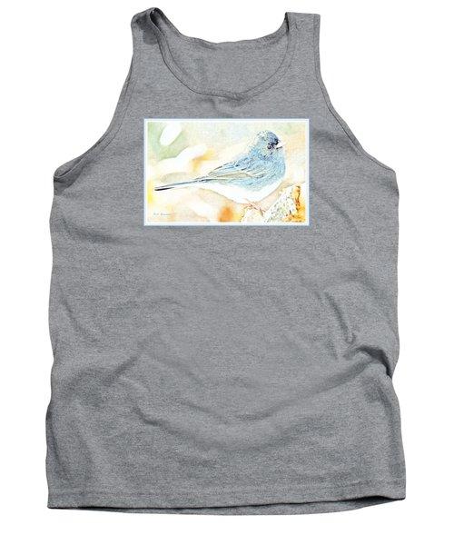 Slate-colored Junco, Snowbird, Male, Animal Portrait Tank Top