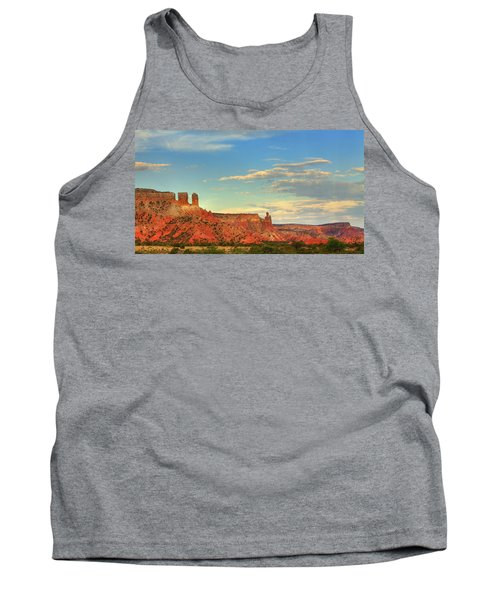 Sunset At Ghost Ranch Tank Top by Alan Vance Ley