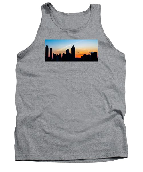 Sunset In Atlanta Tank Top