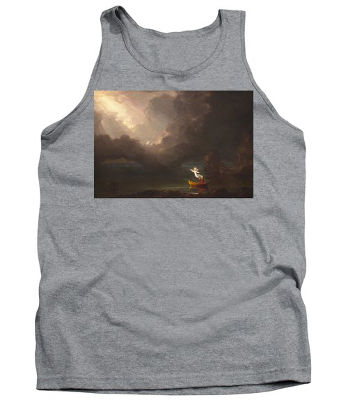 The Voyage Of Life Old Age Tank Top
