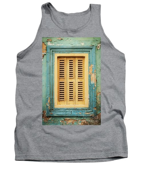 Traditional House Window Architecture Detail La Valletta Old Tow Tank Top