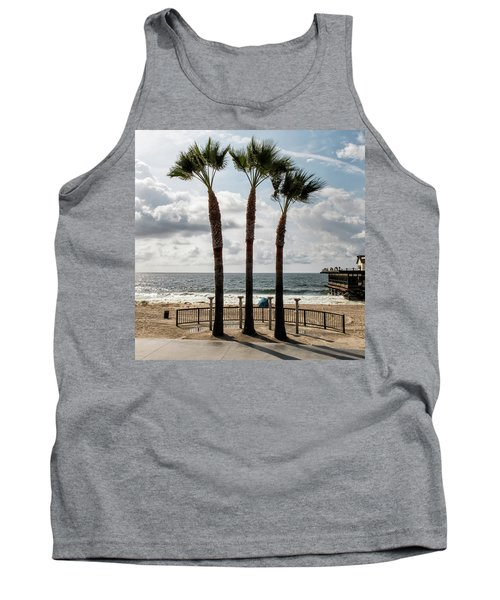 Tank Top featuring the photograph 3 Trees by Eric Lake