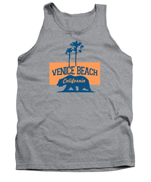 Venice Beach La. Tank Top by Lerak Group LLC