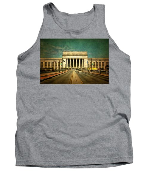 30th Street Station Traffic Tank Top by Trish Tritz