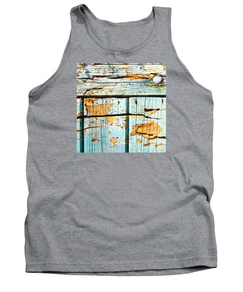 Wooden Background Tank Top