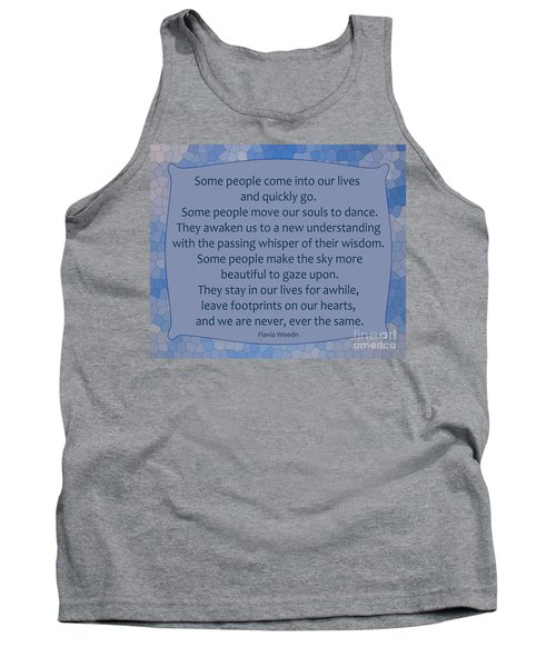 35- Some People Tank Top