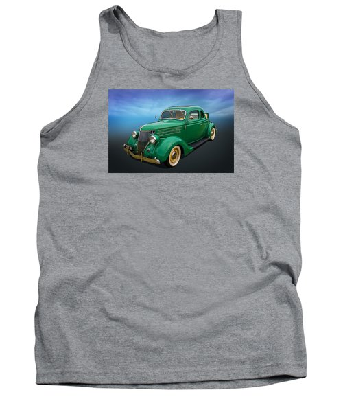 Tank Top featuring the photograph 36 Ford by Keith Hawley