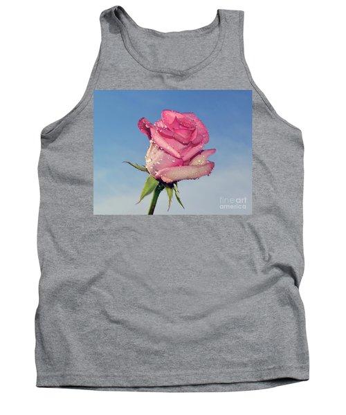 Nice Rose Tank Top by Elvira Ladocki