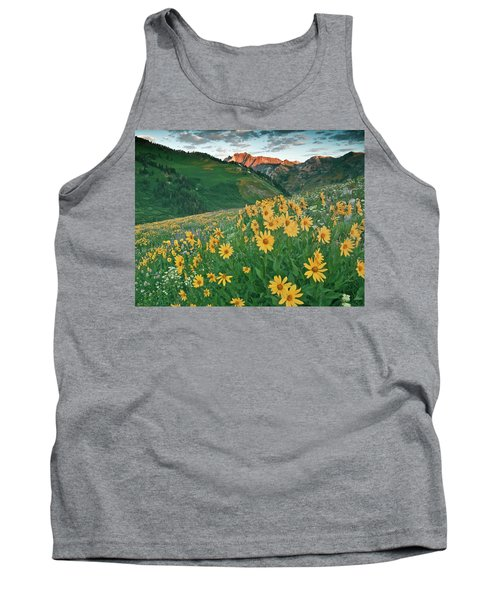 Albion Basin Wildflowers Tank Top