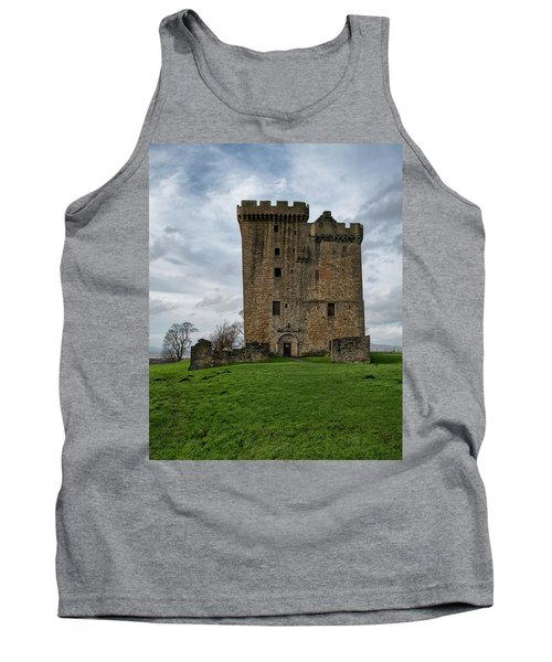 Tank Top featuring the photograph Clackmannan Tower by Jeremy Lavender Photography