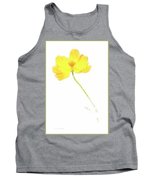 Cosmos Flower Tank Top