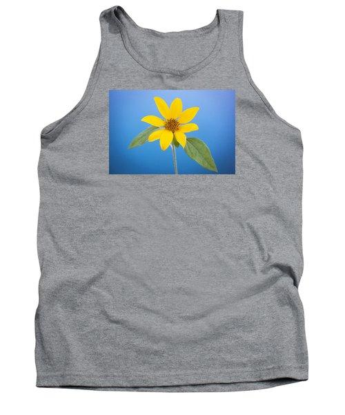Happy Sunflowers Helianthus  Tank Top by Rich Franco