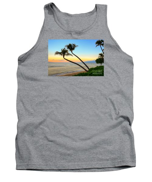 Tank Top featuring the photograph Island Sunrise by Kelly Wade