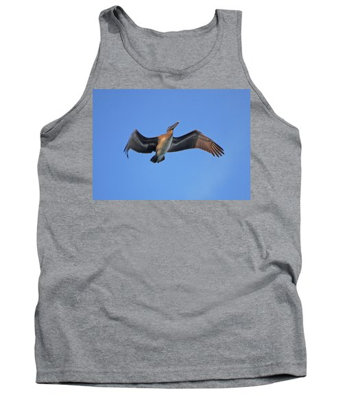 Tank Top featuring the photograph 4- Pelican by Joseph Keane